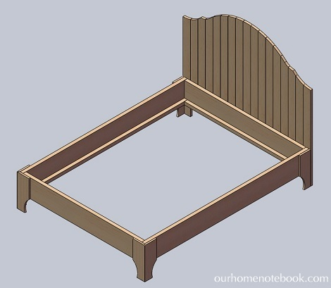 Bed frame building plans