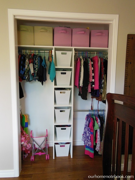 Kids Room After - Closet