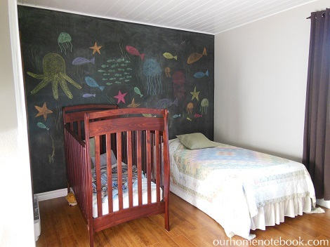 Kids Room After - Landscape view
