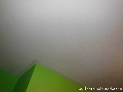 Kids Room Before - Ceiling