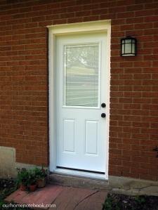 Installing a Exterior Door