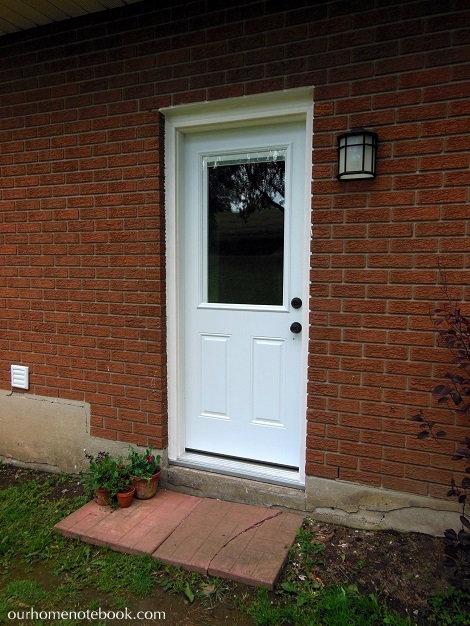Installing a Exterior Door - After1