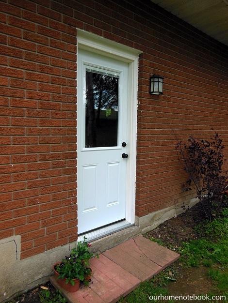 Installing a Exterior Door - After2