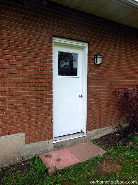 Installing a Exterior Door - Before