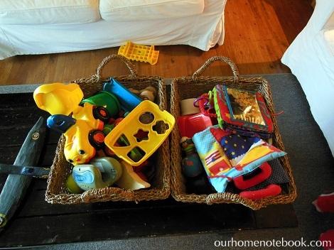Organizing Toys - Before