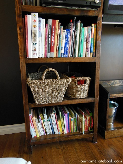 Organizing Toys - Shelf close up