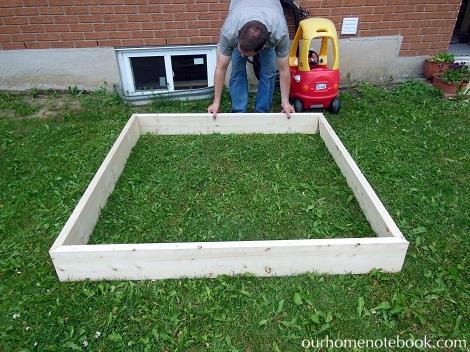 Building a Sandbox - Deciding the size