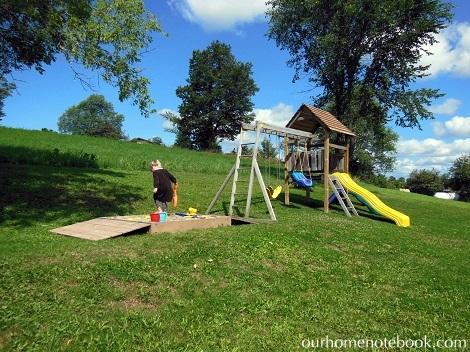 Building a Sandbox - Emma in play zone