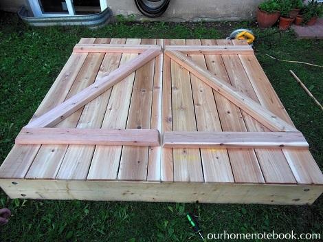 Building a Sandbox - Finished building