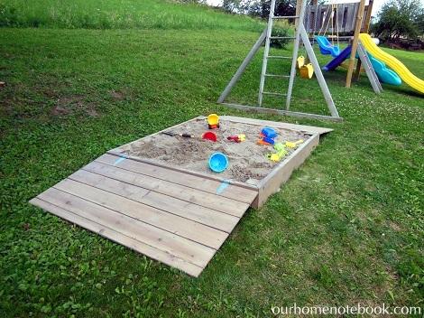 Building a Sandbox - The play zone