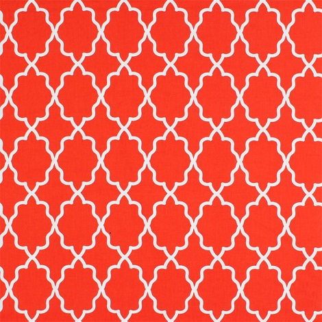 Michael Miller Moroccan Lattice Clementine Fabric 1