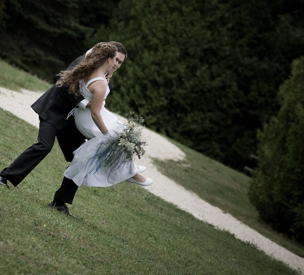 Wedding Photo - Spinning