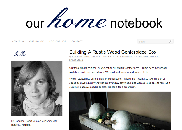 Blog Design October 2013